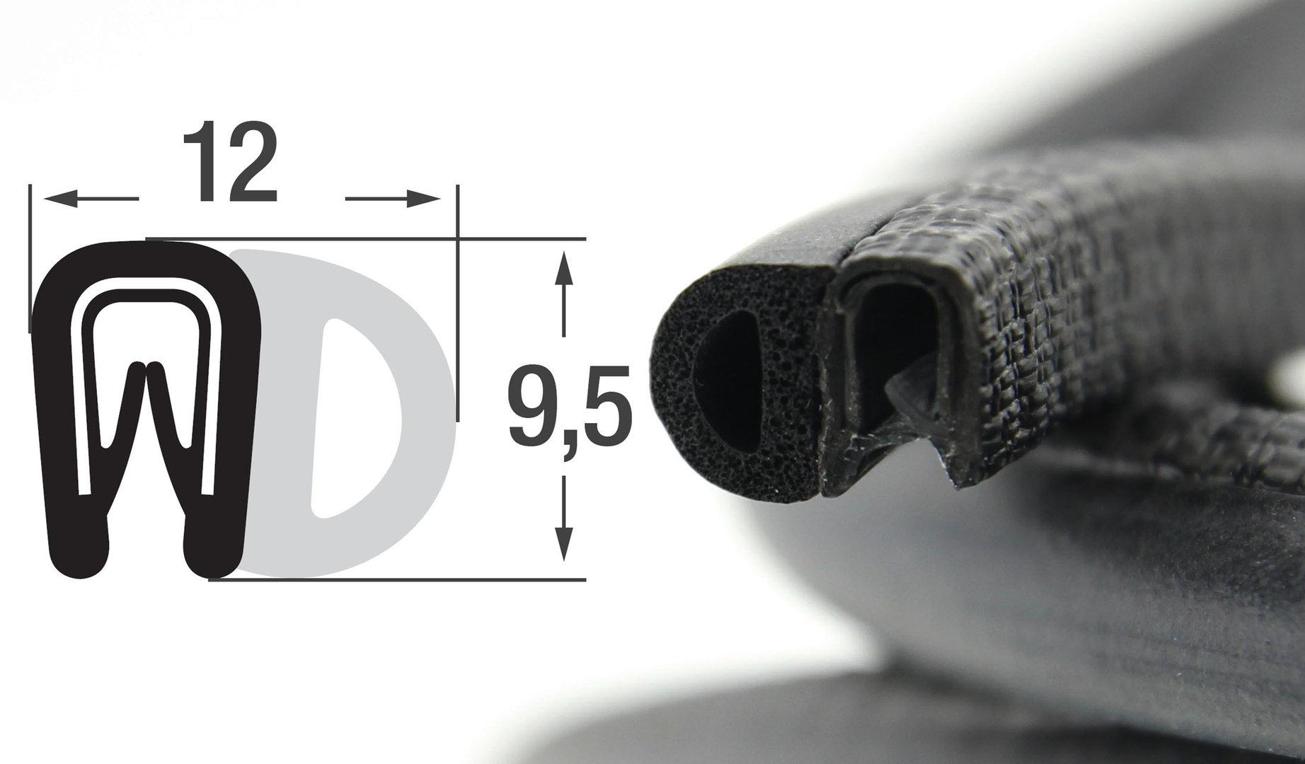 ds4 kantenschutzprofil dichtungsprofil pvc gummi epdm dichtung. Black Bedroom Furniture Sets. Home Design Ideas